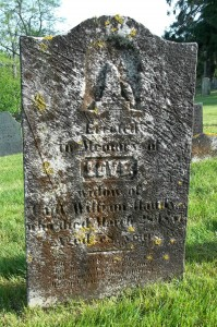 Love Handy Headstone