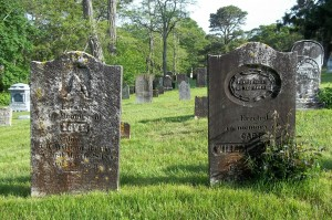 Love & Capt William Handy Headstones