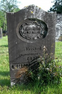 Capt William Handy Headstone