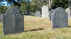 Mary & Mofes Swift Headstones
