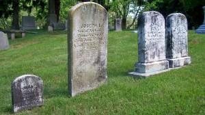 Lyman A, Joseph L, Pamelia & Nathan B Swift Headstones