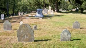 Melatiah Nye & Ruth Waterman Headstones