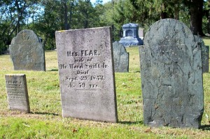 Chloe L (granddaughter), Fear & Ward, Jr Swift Headstones