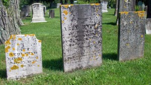 Capt Nehemiah Rider, Abby Ryder & Anna Coleman Headstones