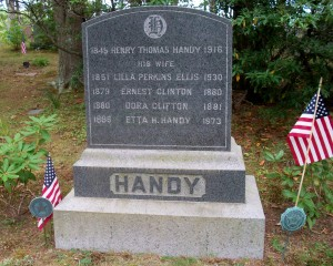 Ernest Clinton Handy Headstone