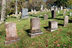 Oliver Wing Family Headstones