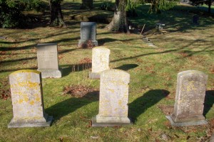 Phinney family Headstones