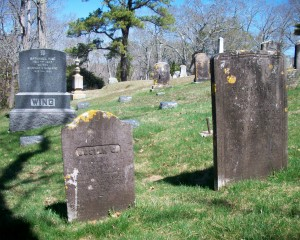 Josiah G & Mehitable Sears Headstones