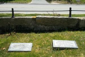 Fred C & Grace L Alexander Headstones
