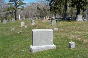 Devens family Headstone area