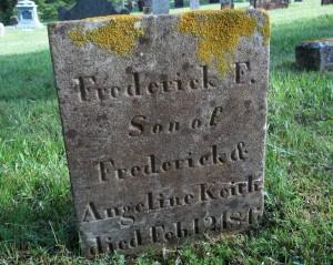 Frederick F Keith Headstone