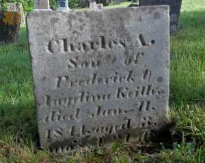 Charles A Keith Headstone