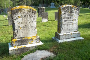 Anthony & Mary Elizabeth Little Headstones