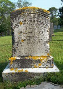 Anthony Little Headstone