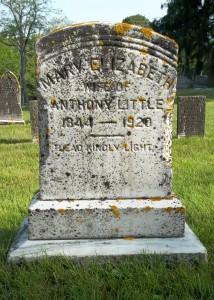 Mary Elizabeth Little Headstone