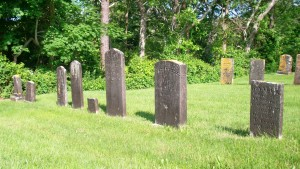 Sophia N Curtis Headstone (second from right)