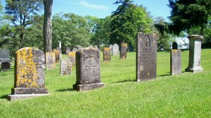 Capt William Handy, Jr Family Headstones;