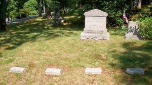 Alton S Collins family Headstones