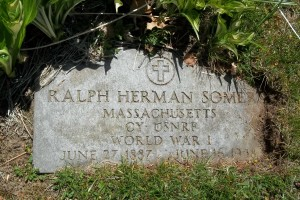 Ralph Herman Somers Headstone