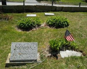 Alexander (background) & Somers (foreground) Headstones