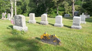 West family Headstone area