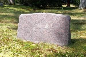 Wallace & Pettee Headstone