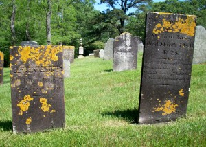 Betsey C & Temperence H King Headstones