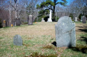 John F Wing & Christianna Cobb Headstones