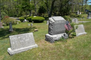 Swift & Handy family Headstones