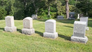 George A Swift family Headstones