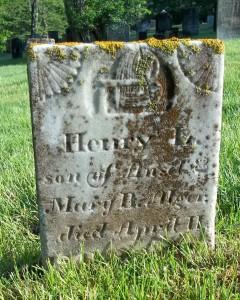 Henry L Alger Headstone
