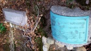John Jay Elmendorf & Rosamond Pentecost Rothery Headstones