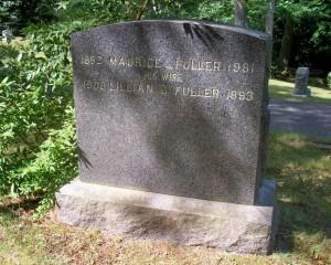 Maurice L & Lillian G Fuller Headstone