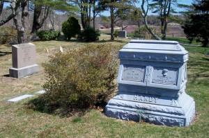 Sylvanus E & Caroline L Handy Headstone