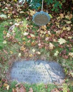 Irving George Gibbs Headstone