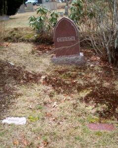 Church Family Headstones