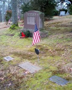 Jennie, Henry S & Harriet Dimmick Headstones