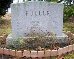 Darrah E Fuller Headstone