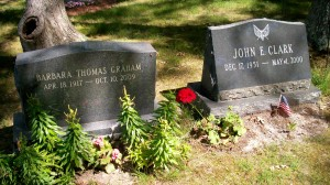 Barbara Thomas Graham & John E Clark Headstones