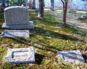 Katherine I & Richard F Irwin Headstones
