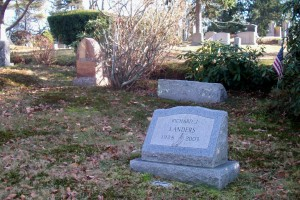 Landers Family Headstones