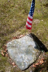 Richard E McCann Jr Headstone